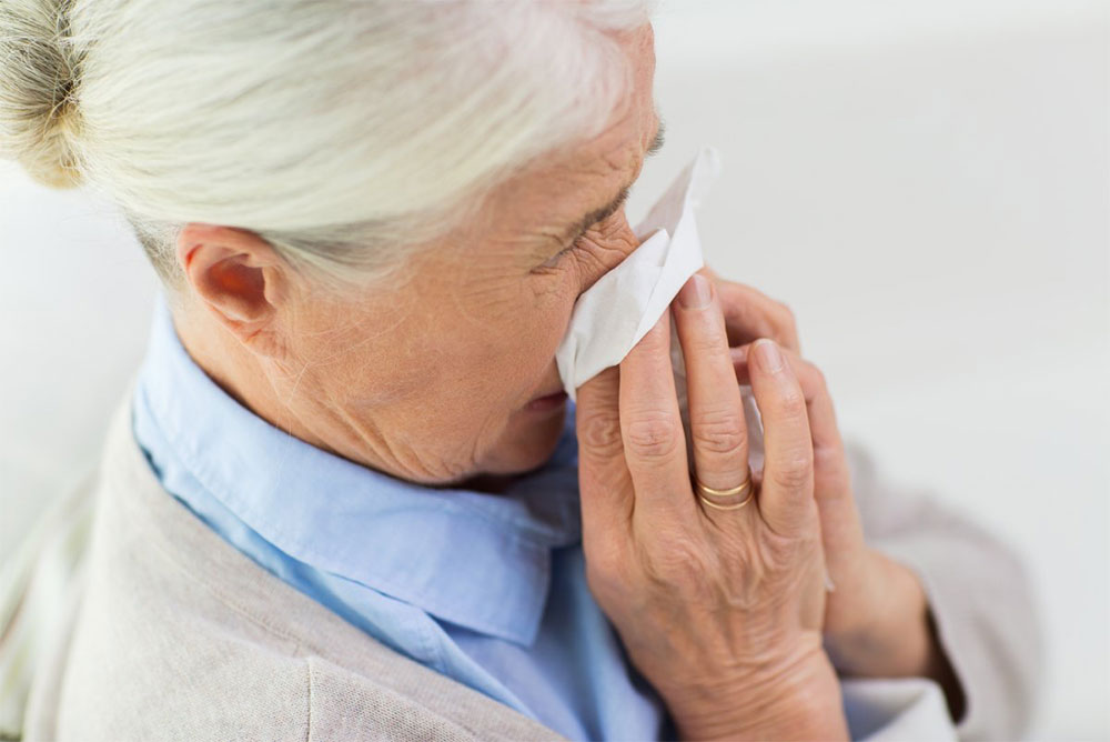 why older adults more at risk of catching flu