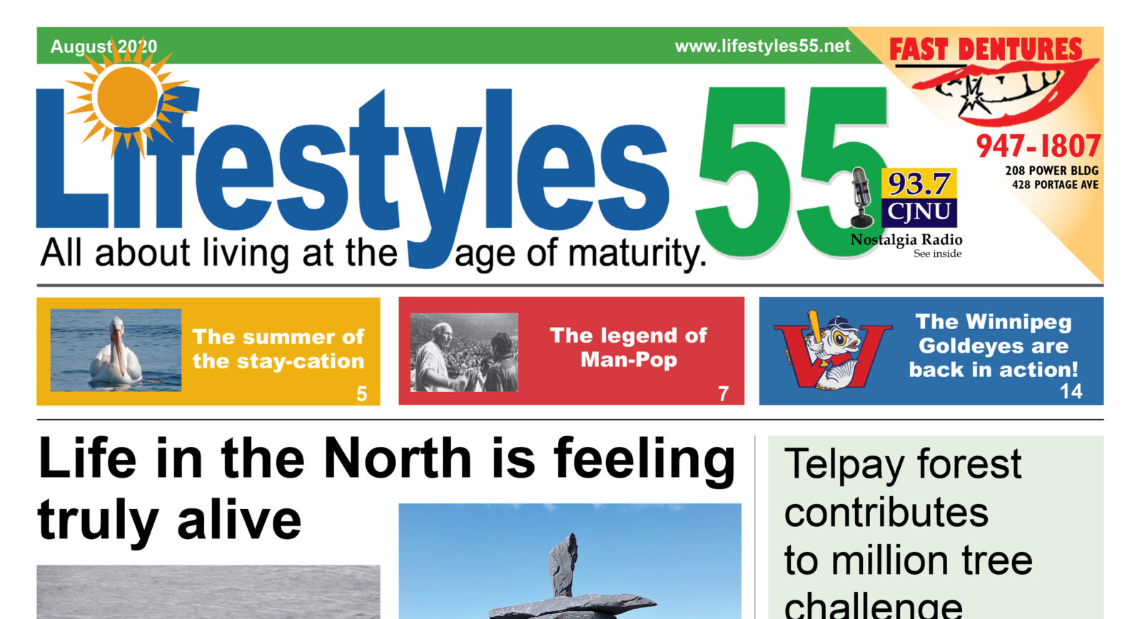 Lifestyles 55 August 2020