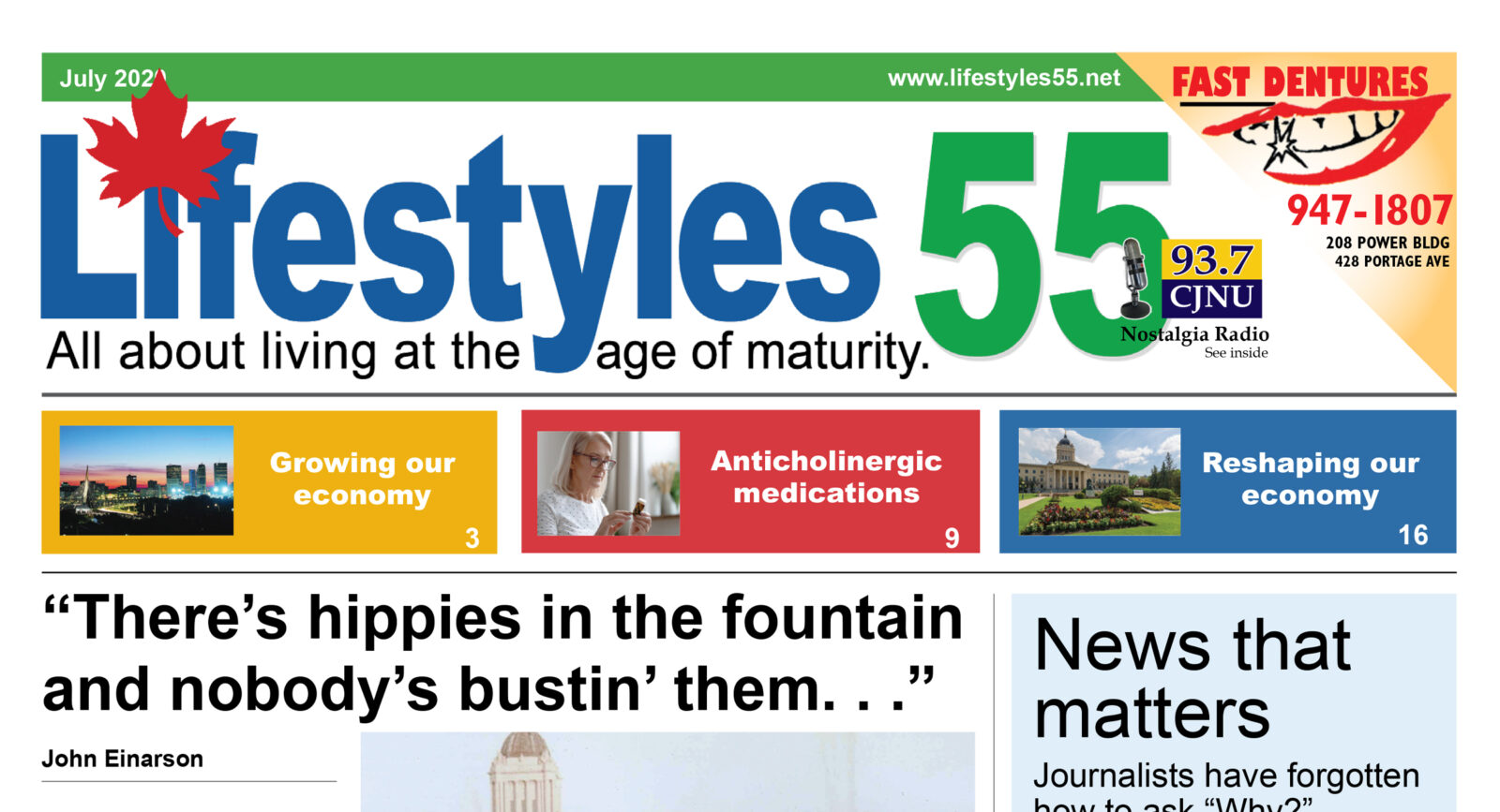 Lifestyles 55 July 2020